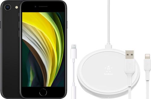 Apple iPhone SE 128 GB Zwart + Accessoirepakket Uitgebreid Main Image