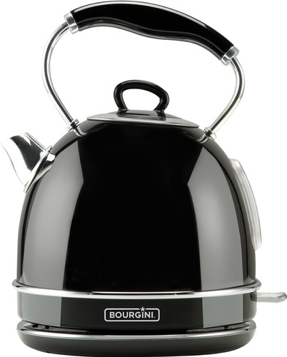 Nostalgic Water Kettle Deluxe Black 1.7L Main Image