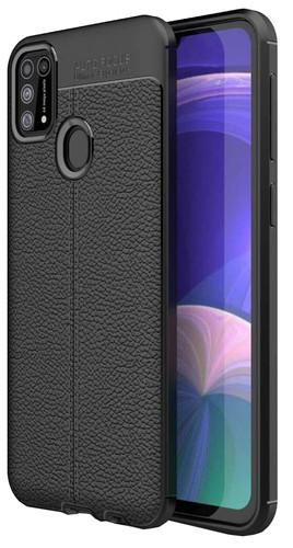 Just in Case Soft Design Samsung Galaxy M31 Back Cover Zwart Main Image