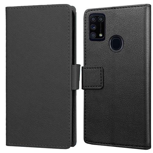 Just in Case Wallet Samsung Galaxy M31 Book Case Zwart Main Image