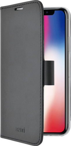 Azuri Wallet Magneet Apple iPhone X Book Case Zwart Main Image