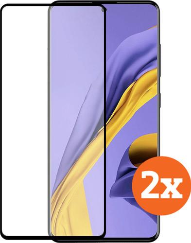 Azuri Samsung Galaxy A51 Screenprotector Glas Duo Pack Main Image