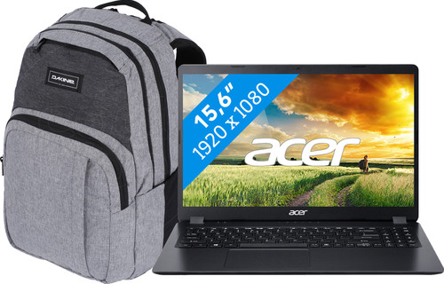 "Acer Aspire 3 A315-56-577F + Dakine Campus 15"" Greyscale 25L Main Image"