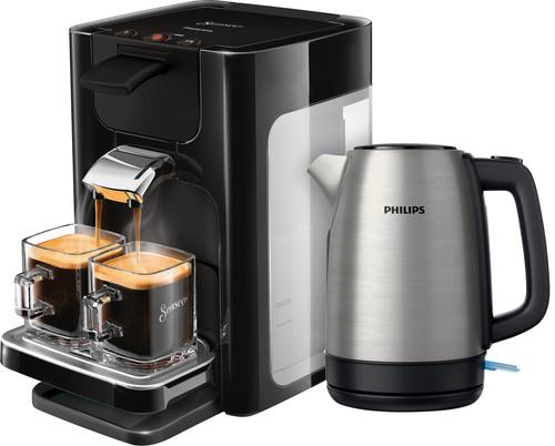 Philips Senseo Quadrante HD7865/60 Zwart + waterkoker Main Image