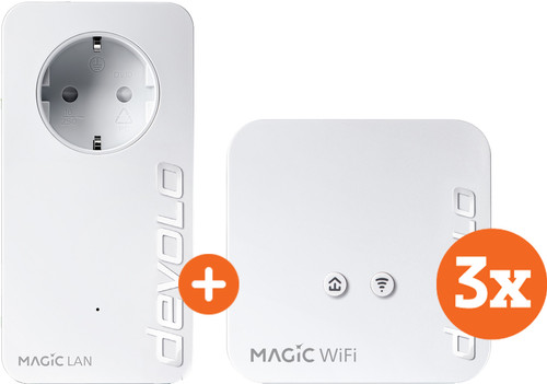 Devolo Magic 1 WiFi mini Multiroom Kit + Expansion (NL) Main Image