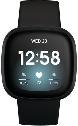 Fitbit Versa 3 Zwart Main Image