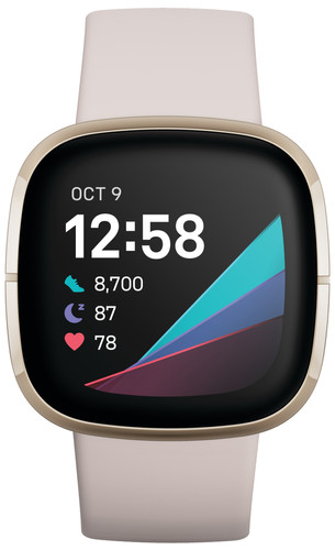 Fitbit Sense Wit/Goud Main Image