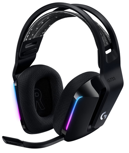 Logitech G733 LIGHTSPEED Wireless Gaming Headset Zwart Main Image