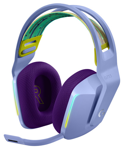 Logitech G733 Lightspeed Wireless Gaming Headset Purple Main Image