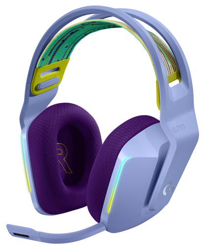 Logitech G733 LIGHTSPEED Wireless Gaming Headset Paars Main Image