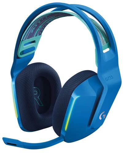 Logitech G733 LIGHTSPEED Wireless Gaming Headset Blauw Main Image
