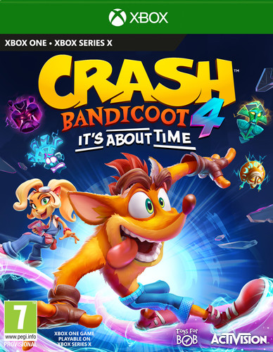 Crash Bandicoot 4: It's About Time Xbox One Main Image