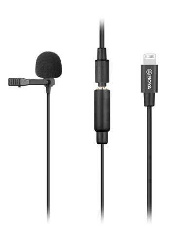 Boya BY-M2 Lavalier Microphone for iOS Main Image