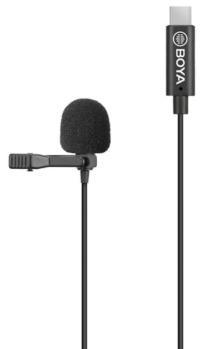 Boya BY-M3 Lavalier Microphone for USB-C Main Image