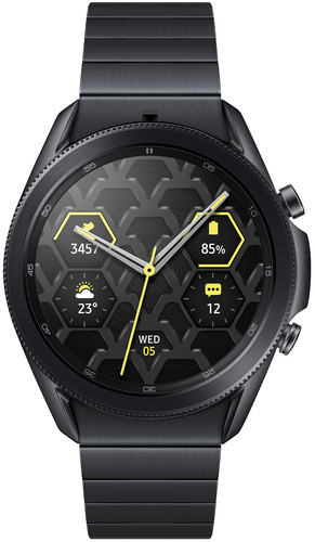 Samsung Galaxy Watch3  Zwart 45 mm Titanium Main Image