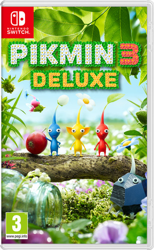 Pikmin 3 Deluxe Main Image