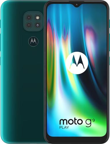 Motorola Moto G9 Play 64GB Groen Main Image