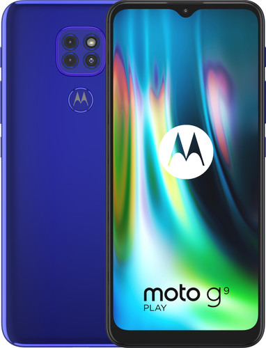Motorola Moto G9 Play 64GB Blue Main Image