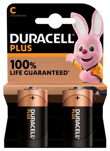 Duracell Alka Plus C batterijen 2 stuks Main Image