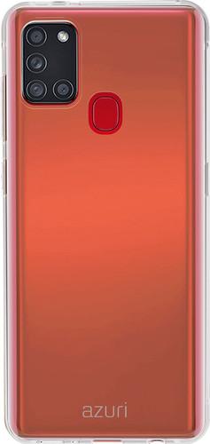 Azuri TPU Samsung Galaxy A21s Back Cover Transparant Main Image