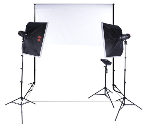 Falcon Eyes Studio Flash Set SSK-3150D Main Image