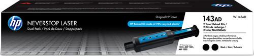HP 143AD Neverstop Tonerbijvulkit Zwart Duo Pack Main Image