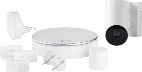 Somfy Protect Home Alarm + Outdoor Camera White Main Image