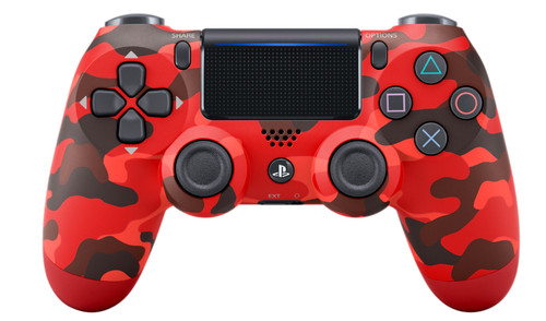 Sony DualShock 4 Controller PS4 V2 Red Camo Main Image