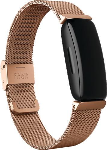 Fitbit Inspire/Inspire 2 Milanees Bandje Roségoud Main Image