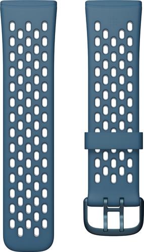 Fitbit Versa 3/Sense Siliconen Bandje Blauw L Main Image