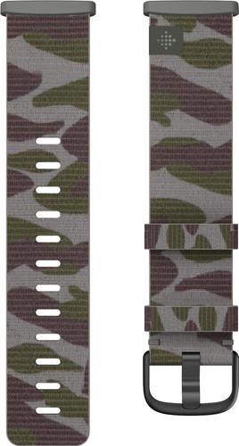 Fitbit Versa 3/Sense Nylon Strap Camo L Main Image