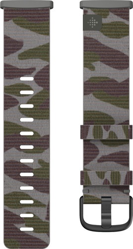 Fitbit Versa 3/Sense Nylon Strap Camo S Main Image