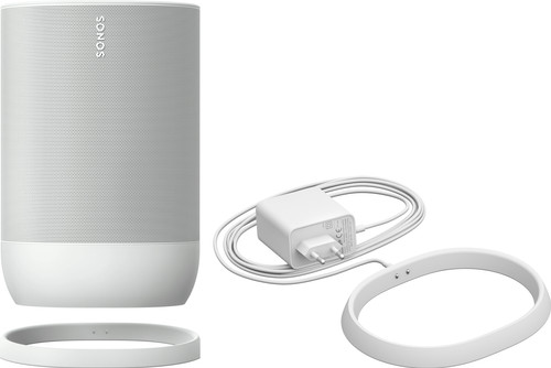 Sonos Move + Extra Charging Dock White Main Image