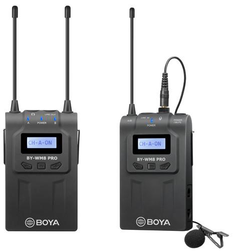 Boya BY-WM8 Pro K2 UHF Draadloze Microfoon Kit 2TX+1RX Main Image