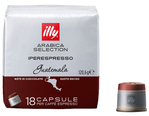 Illy IPSO home Guatemala 18 capsules Main Image