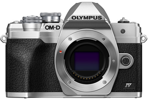 Olympus OM-D E-M10 Mark IV Body Silver Main Image