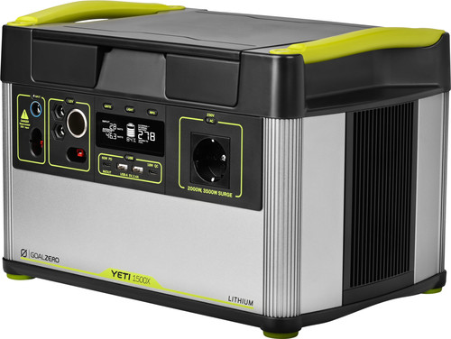 Goal Zero Yeti 1500x Portable Power Station 1516 Wh Main Image