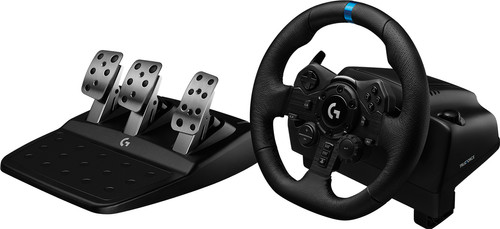Logitech G923 TRUEFORCE - Racing Wheel with Force Feedback for PlayStation 5, PS4, and PC Main Image