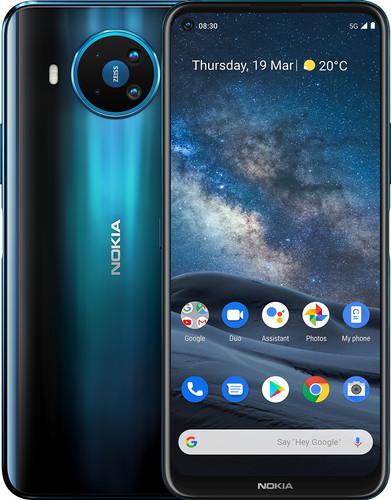 Nokia 8.3 64GB Blue 5G Main Image