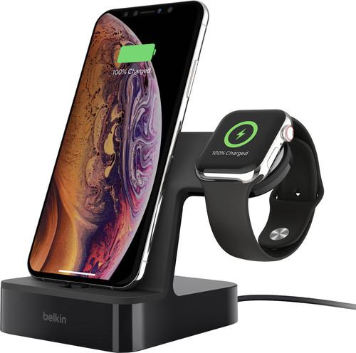 Belkin PowerHouse Docking Station iPhone + Apple Watch Zwart Main Image
