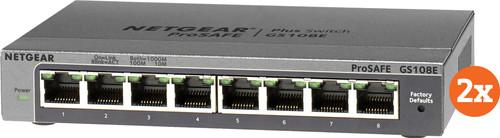 Netgear GS108E Duo Pack Main Image