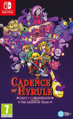 Cadence of Hyrule: Crypt of the NecroDancer featuring The Legend of Zelda Main Image