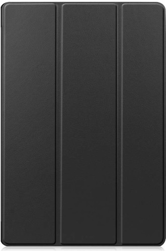 Just in Case Tri-Fold Samsung Galaxy Tab S7 Book Case Zwart Main Image