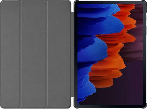 Just in Case Tri-Fold Samsung Galaxy Tab S7 Plus Book Case Zwart Main Image