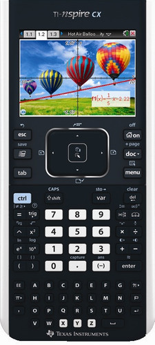 Texas Instruments TI-Nspire CX Main Image