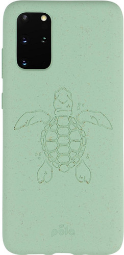 Pela Eco Friendly Samsung Galaxy S20 Plus Back Cover Blauw (Turtle Edition) Main Image