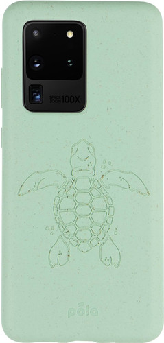 Pela Eco Friendly Samsung Galaxy S20 Ultra Back Cover Blue (Turtle Edition) Main Image