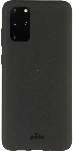 Pela Eco Friendly Samsung Galaxy S20 Plus Back Cover Zwart Main Image