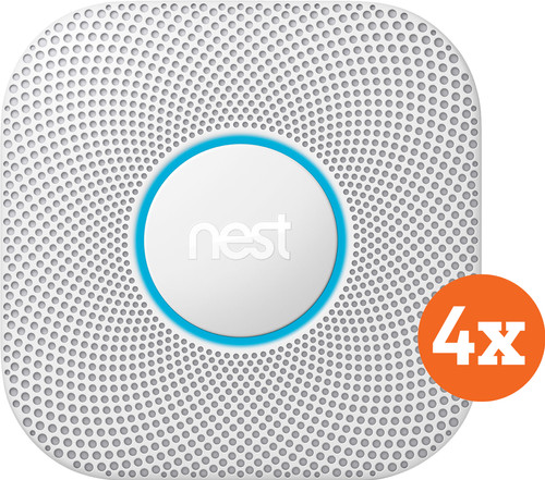 Google Nest Protect V2 Power Grid 4-Pack Main Image