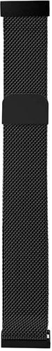 Just in Case Samsung Galaxy Watch3 45mm Milanese Strap Black Main Image